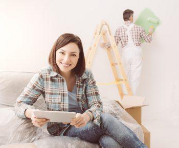 zimmer streichen lassen kosten preisbeispiele und mehr. Black Bedroom Furniture Sets. Home Design Ideas