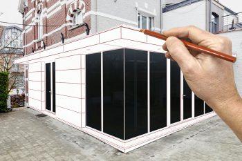 anbau aus fertigelementen mit diesen kosten ist zu rechnen. Black Bedroom Furniture Sets. Home Design Ideas