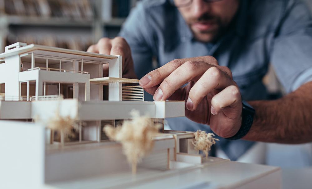 Architekt: ein Kosten-Rechner