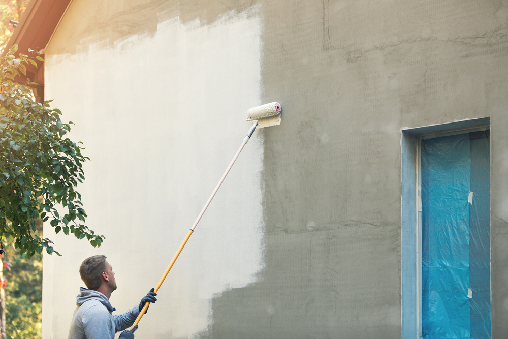 Außenfassade streichen: welche Kosten sind zu erwarten?