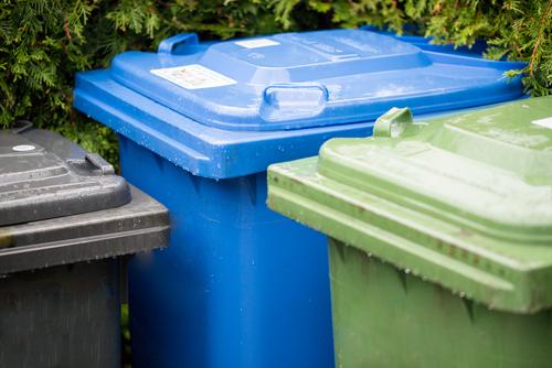 Mülltonne bereitstellen