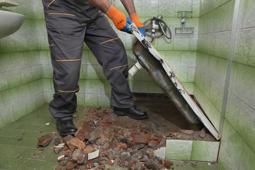 Barrierefreies Badezimmer umbauen