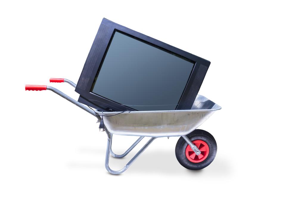 Fernseher entsorgen: welche Kosten fallen an?