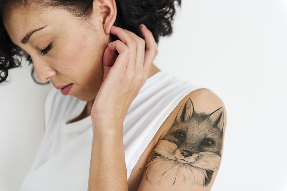 Tattoo schulter oberarm Tattoo Oberarm