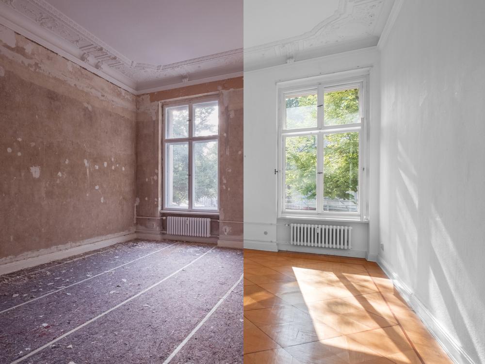 Wohnung renovieren: Wie kann man die Kosten berechnen?