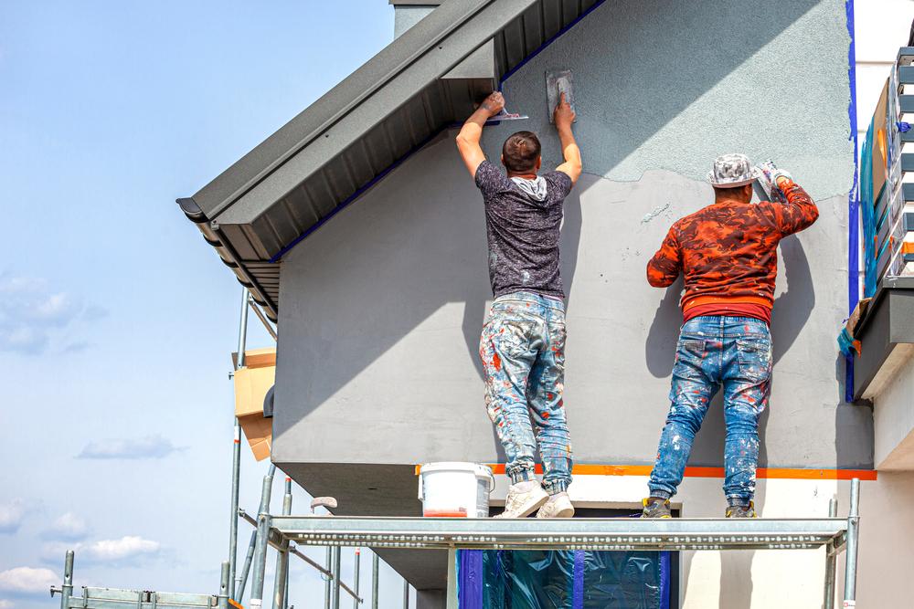 Fassadenputz: welche Kosten sind zu rechnen?