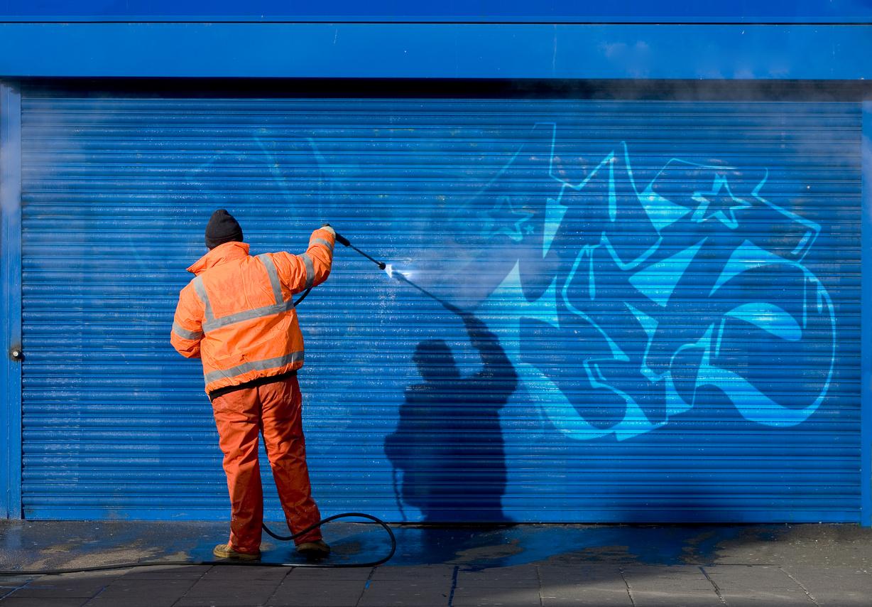 Graffiti entfernen: welche Kosten muss man rechnen?